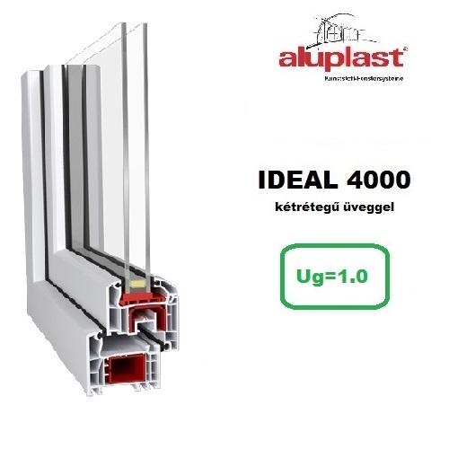 ideal 4000 Ablakok kétrétegű üveggel