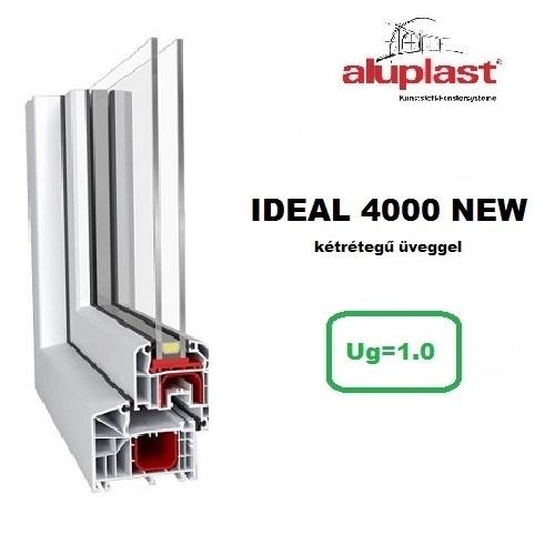 ideal 4000 new Ablakok kétrétegű üveggel
