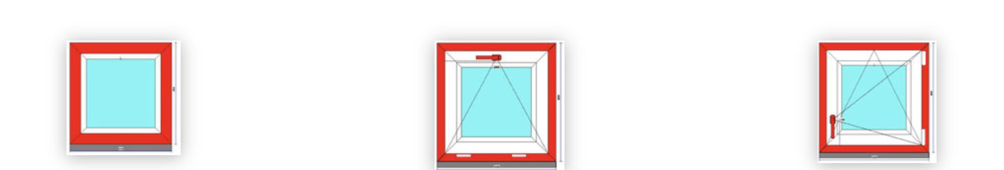 Ablak szerkezete, nyitási lehetőségei